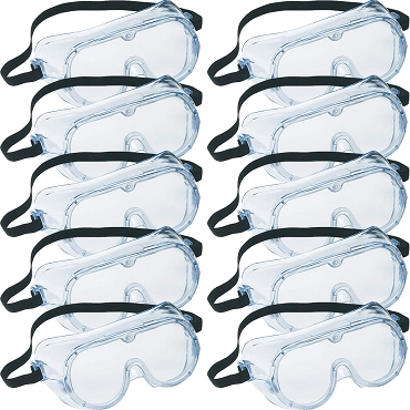 Safety Goggles - 10-pack